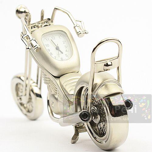 Часы настольные - Мотоцикл, фото