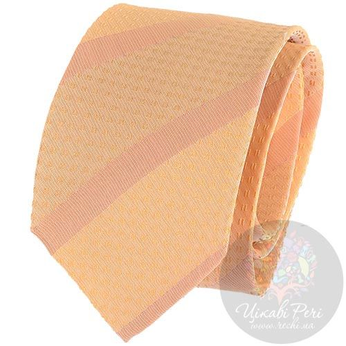 Галстук DKNY персикового цвета, фото