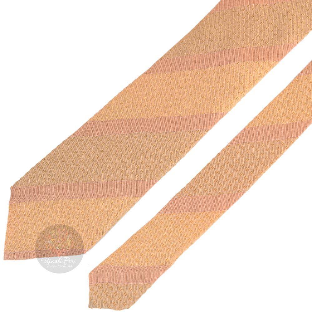 Галстук DKNY персикового цвета