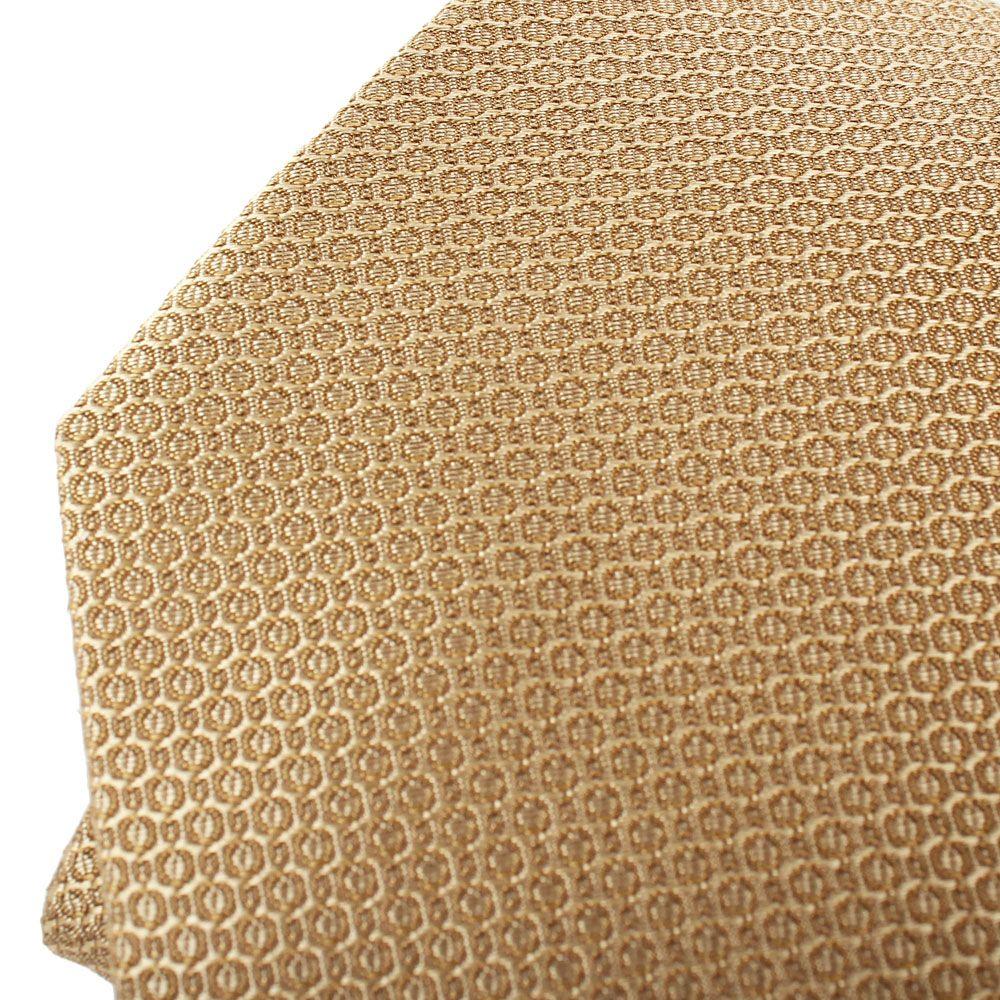 Галстук DKNY золотого цвета с абстрактным рисунком