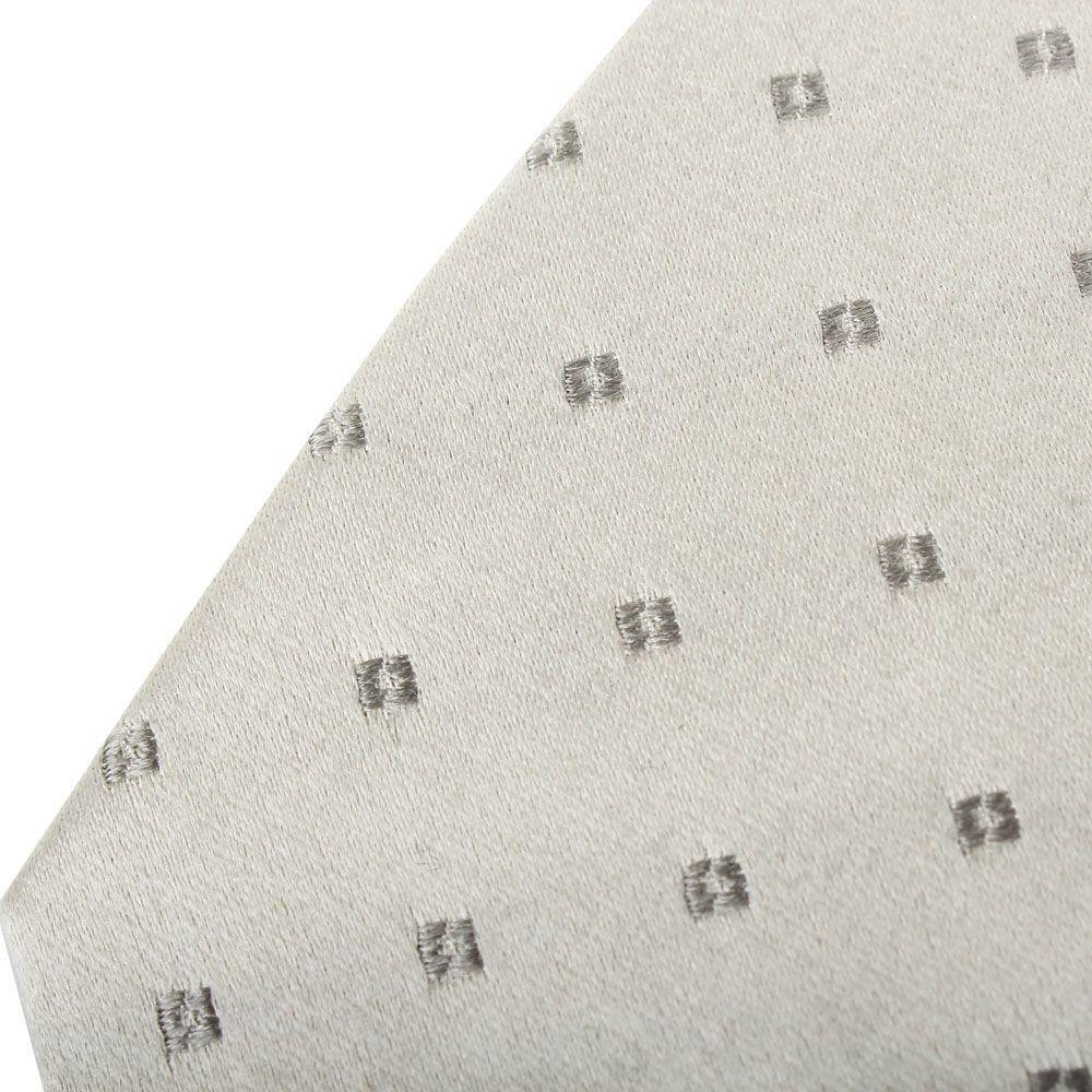 Галстук DKNY серого цвета с геометрическим рисунком