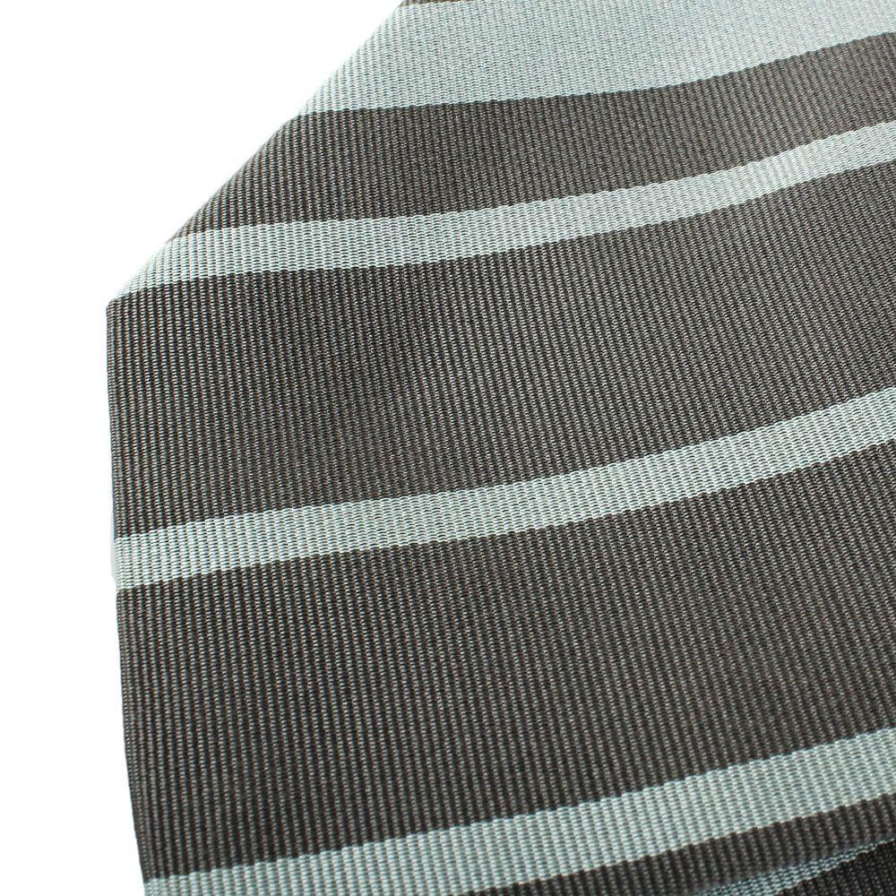 Галстук DKNY светло-серого цвета в темную полоску