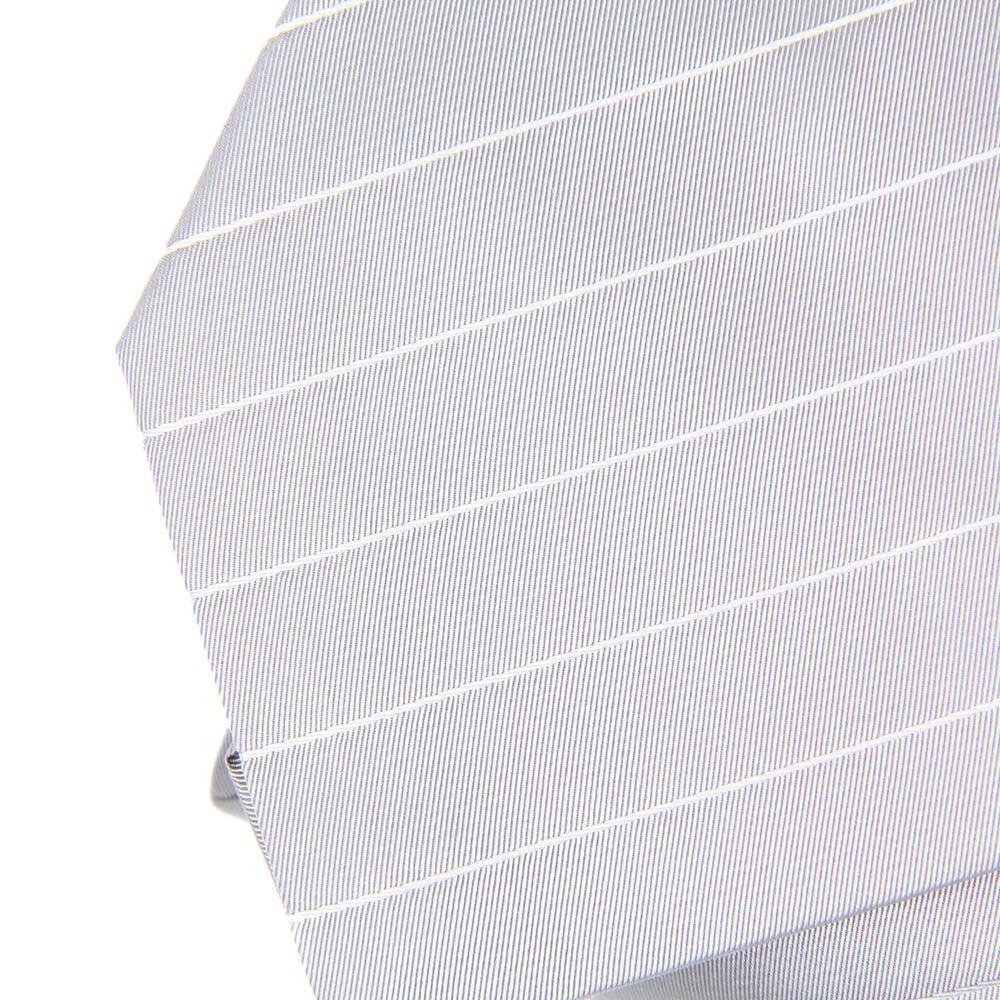 Серый DKNY в тонкую светло-серую полоску