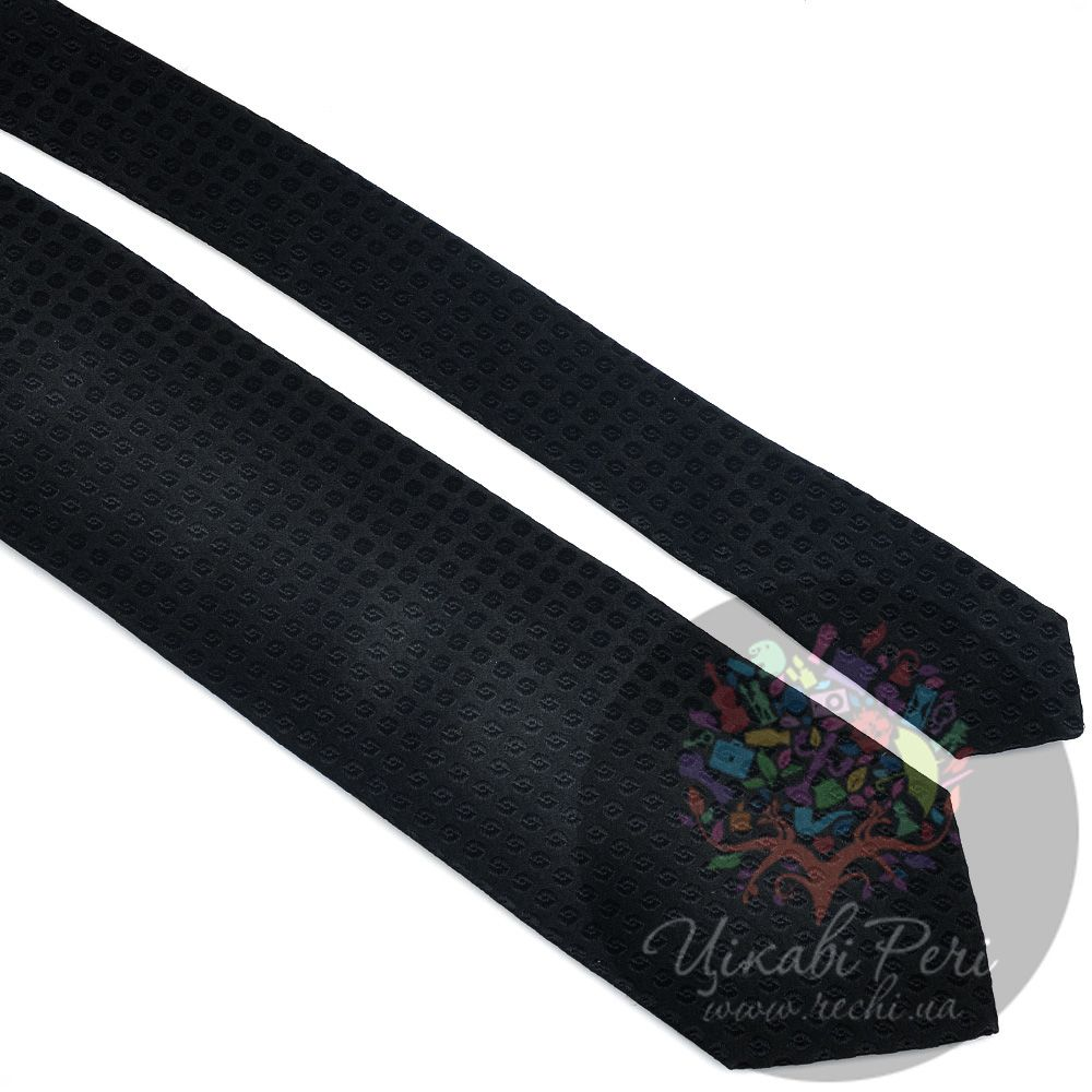 Галстук Trussardi шелковый элегантный черный