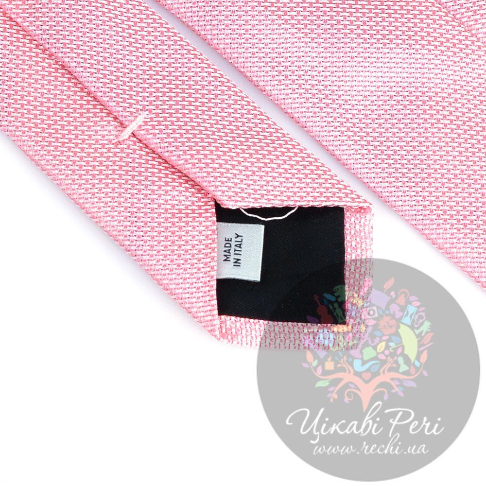 Галстук Valentino шелковый нежно-розовый
