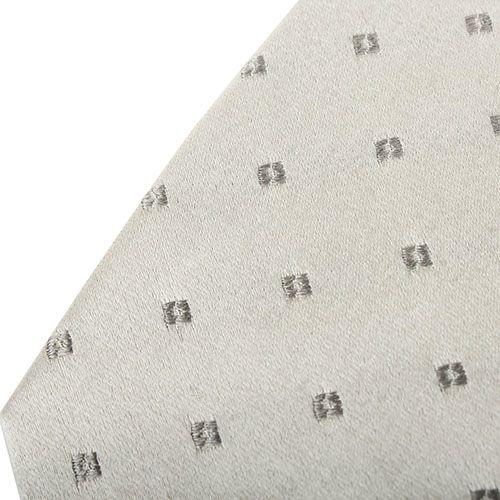 Галстук DKNY серого цвета с геометрическим рисунком, фото