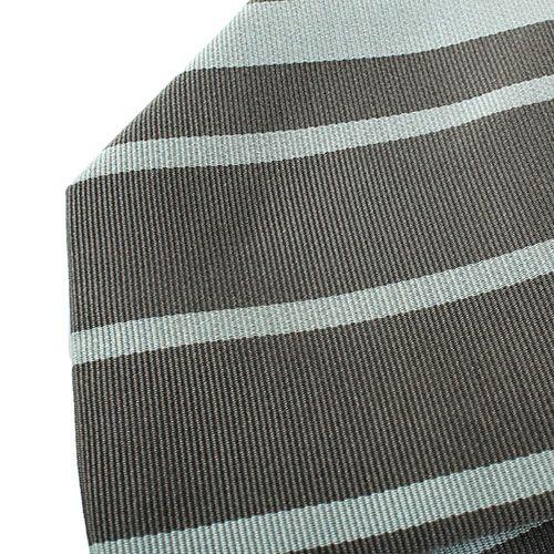 Галстук DKNY светло-серого цвета в темную полоску, фото