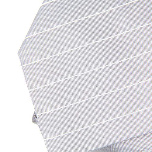 Серый DKNY в тонкую светло-серую полоску, фото