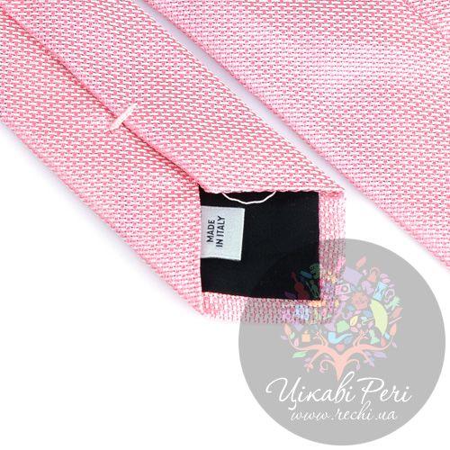 Галстук Valentino шелковый нежно-розовый, фото