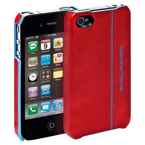 Чехол для iPhone Blue Square красный, фото