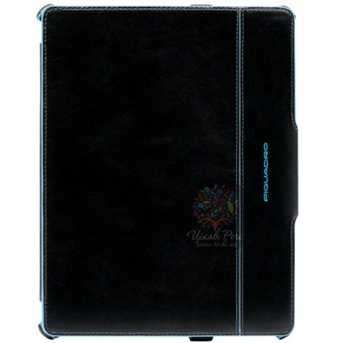 Чехол Piquadro Blue Square для iPad 2 из натуральной кожи, фото