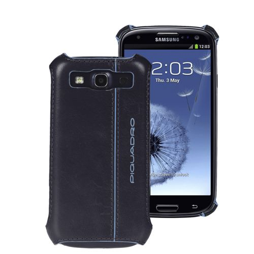 Кейс Piquadro Blue Square для Samsung Galaxy S3 тёмно-синий, фото