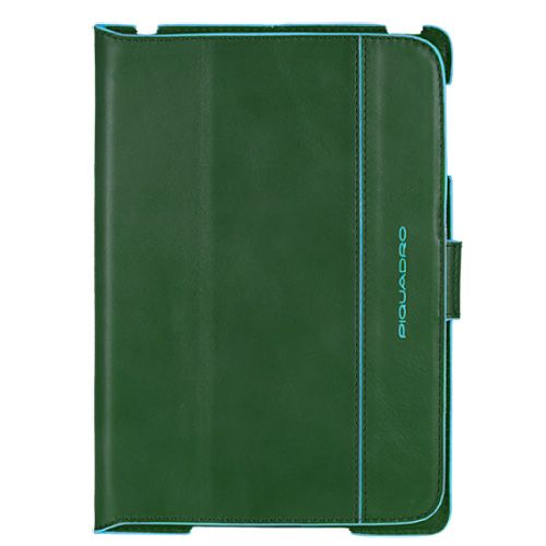 Чехол Piquadro Blue square для IPad Mini кожаный зеленый, фото