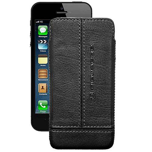 Чехол Piquadro Vibe для iPhone 5 черный, фото