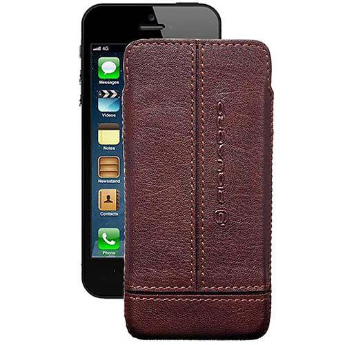 Чехол Piquadro Vibe для iPhone 5 коричневый, фото