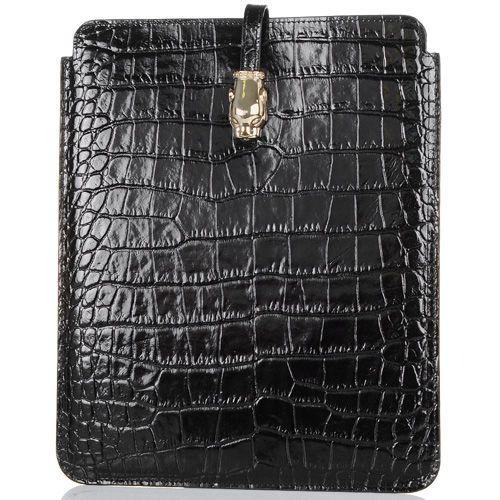 Чехол для iPad Cavalli Class Daphne кожаный черный, фото