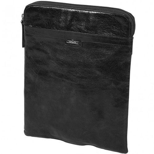 Чехол Tavecchi Vintech для планшета 10' черный кожаный вертикальный, фото