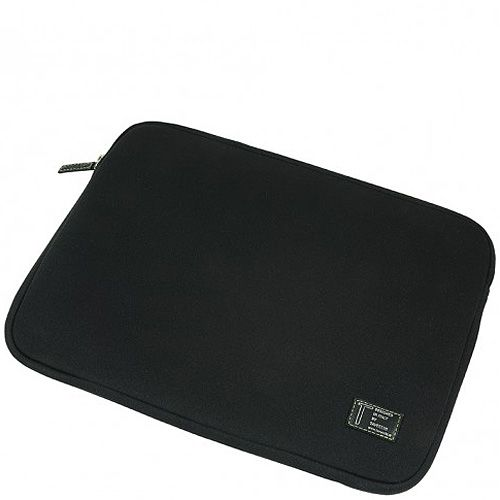 Чехол Tavecchi неопреновый черный на молнии для ноутбука 15,6', фото