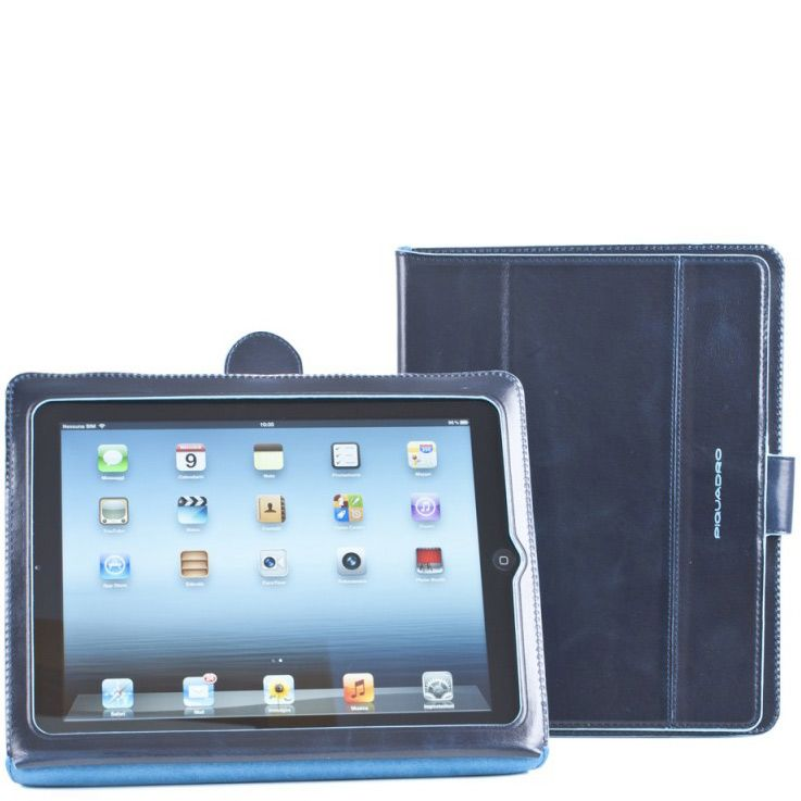 Чехол для iPad 2 Piquadro синий