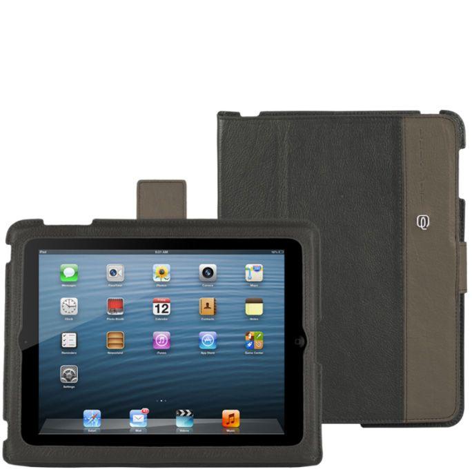 Чехол для iPad 2 Piquadro Vibe темный бежево-серый