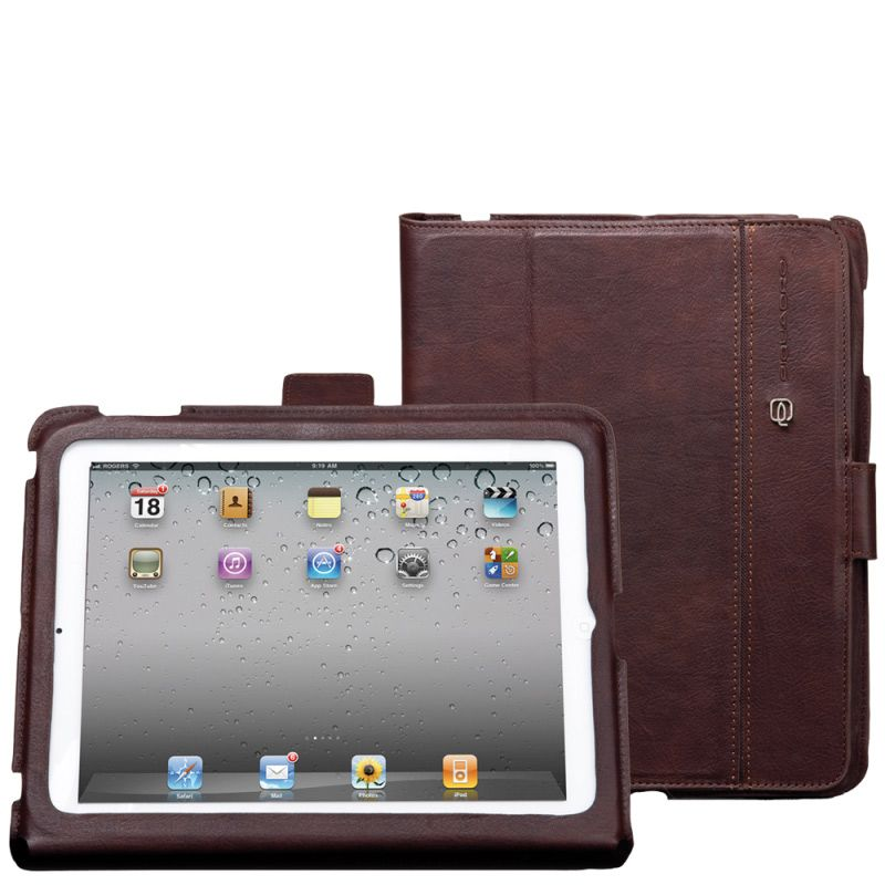 Чехол для iPad 2 Piquadro коричневый