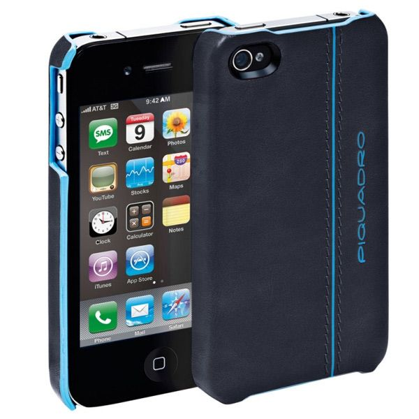 Чехол Piquadro для iPhone Blue Square