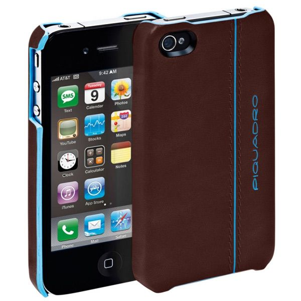 Чехол для iPhone Piquadro Blue Square