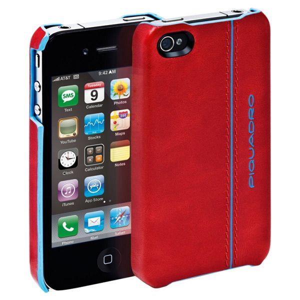 Чехол для iPhone Blue Square красный