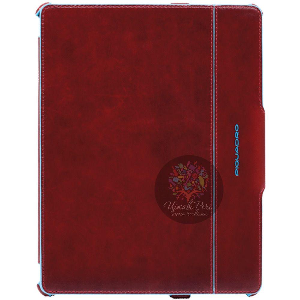 Чехол Piquadro Blue Square для iPad 2 из натуральной кожи красный