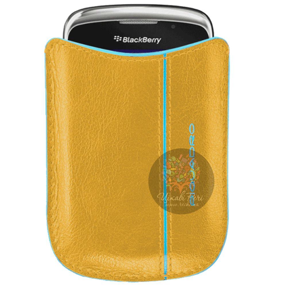 Чехол Piquadro Blue Square для BlackBerry с функцией спящего режима
