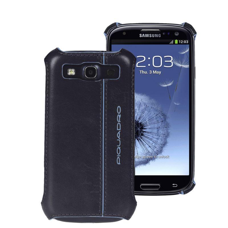 Кейс Piquadro Blue Square для Samsung Galaxy S3 тёмно-синий
