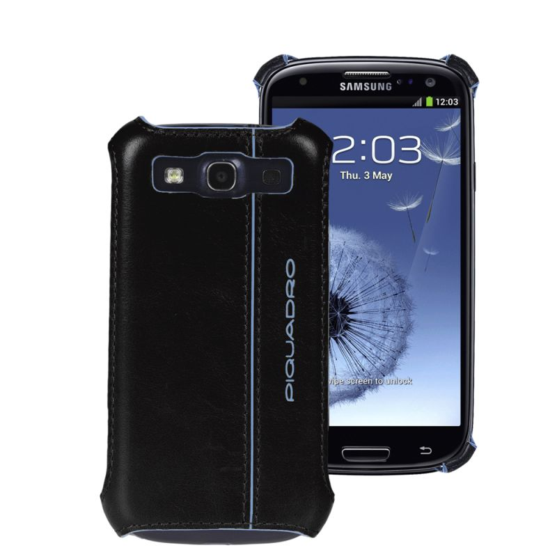 Кейс Piquadro Blue Square для Samsung Galaxy S3 чёрный