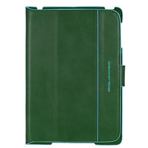 Чехол Piquadro Blue square для IPad Mini кожаный зеленый