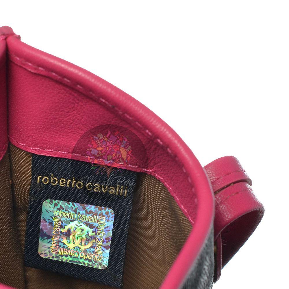 Чехол Cavalli Class Lara с отделкой цвета фуксии для iPhone, смартфона