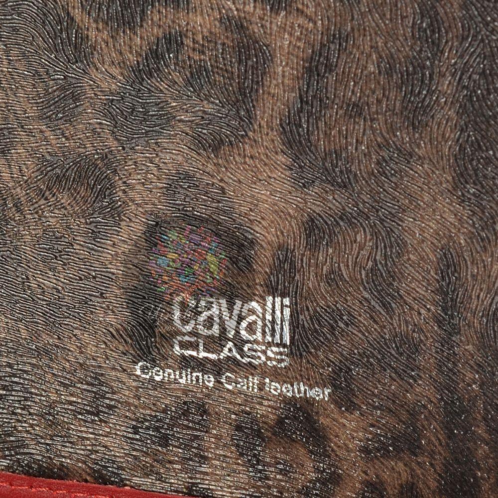 Чехол Cavalli Class Lara с темно-красной отделкой для iPad, планшета