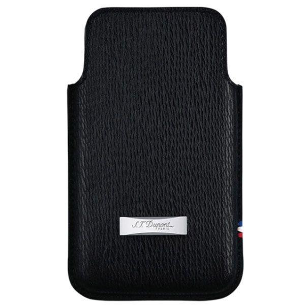 Чехол S.T.Dupont для iPhone 5 из кожи черного цвета
