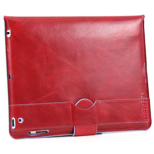 Чехол Piquadro Blue Square красный для iPad 2, фото