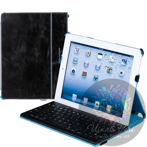 Чехол Piquadro Blue Square для iPad 2 из кожа, фото