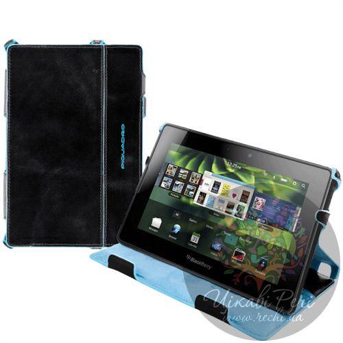 Чехол Piquadro Blue Square для BlackBerry PlayBook, фото