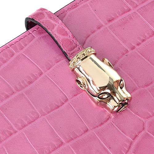 Чехол для iPad Cavalli Class Daphne кожаный сиренево-розовый, фото