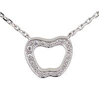 Цепочка с кулоном Nina Ricci с бриллиантами, фото