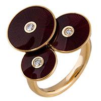 Женское кольцо Faberge с бриллиантами, фото
