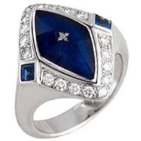 Перстень Faberge с сапфирами, фото