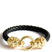 Браслет из кожи Totem Adventure Jewelry Lion, фото