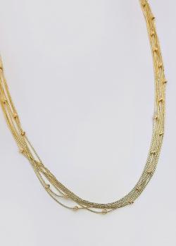 Многослойное ожерелье Itisi из золота, фото