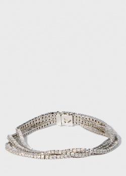 Золотой браслет Zarina Sparkling Eyes в бриллиантах (7,64 ct), фото
