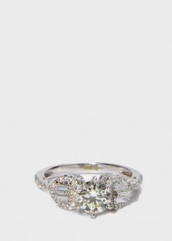 Золотое кольцо Zarina Prive в бриллиантах (1,41 ct), фото