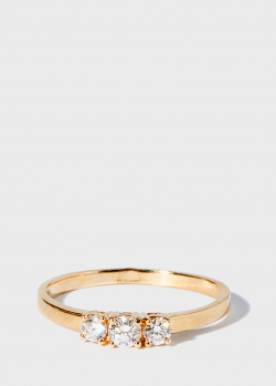 кольцо Zarina One Love с бриллиантовой дорожкой (0,3 ct), фото