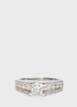 Золотое кольцо Zarina Sparkling Eyes в бриллиантах, фото
