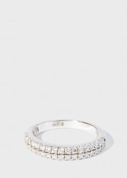 Золотое кольцо Zarina Sparkling Eyes с бриллиантами (0,37 ct), фото
